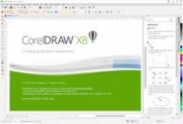 Corel Draw Graphics Suite X8