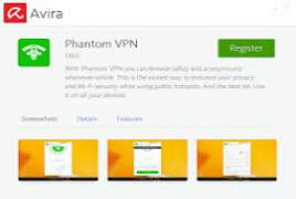Avira Phantom VPN Pro v2